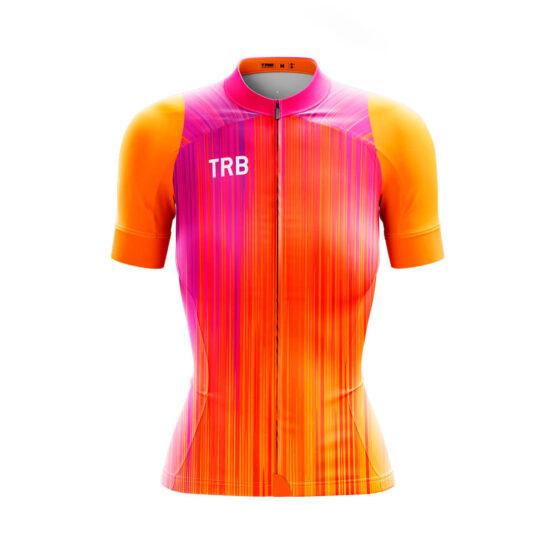 camiseta ciclismo mujer