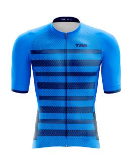 camiseta ciclismo azul