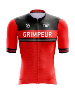 camiseta ciclismo roja