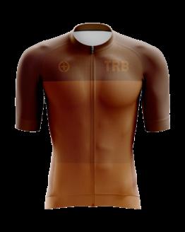 camiseta ciclismo chocolate